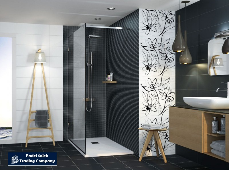 Black And White Floor Wall Tiles