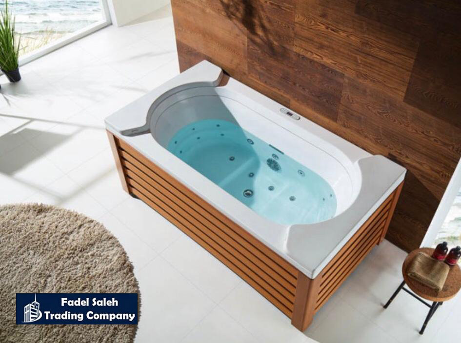 Check our indoor jacuzzi available at our showroom